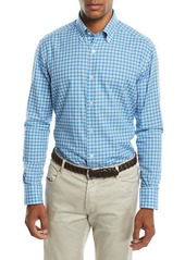 Neiman Marcus Men's Medium Plaid Sport Shirt