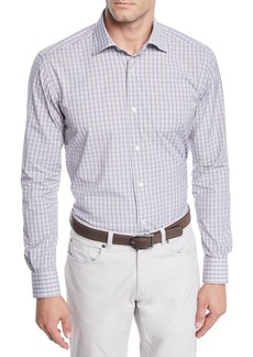 Neiman Marcus Men's Medium Tartan Plaid Sport Shirt