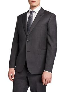 Neiman Marcus Men's Modern-Fit Two-Piece Wool Suit