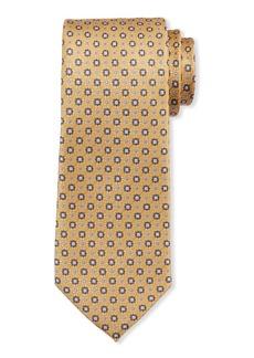 Neiman Marcus Men's Neat-Print Silk Tie