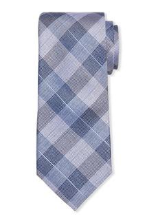 Neiman Marcus Men's Nobel Glen Plaid Silk Tie