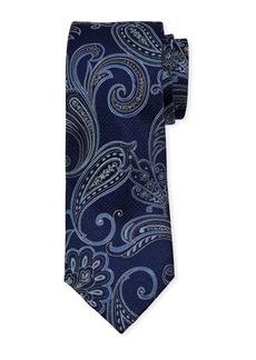 Neiman Marcus Men's Paisley Silk Tie