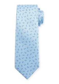 Neiman Marcus Men's Pine Silk Tie