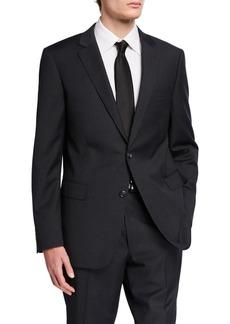 Neiman Marcus Men's Pinstripe Trim Fit Two Piece Suit
