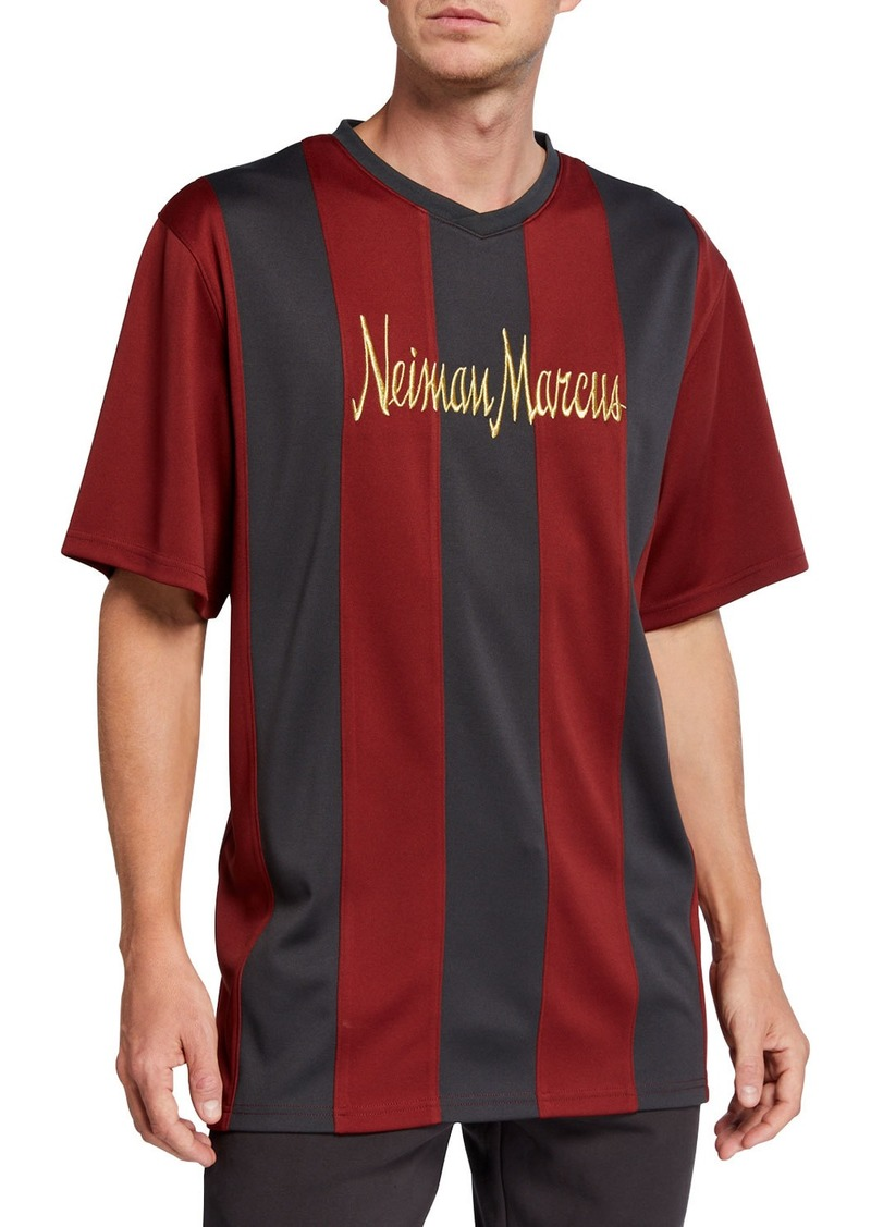 Neiman Marcus Men's Retro Pique Soccer Jersey Shirt