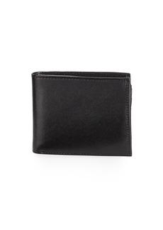 Neiman Marcus Men's Saffiano Leather Bi-Fold Passcase