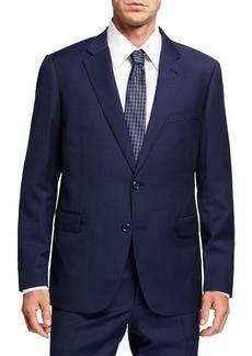 Neiman Marcus Men's Trim Wool Two-Piece Suit