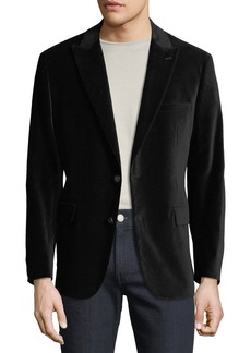 Neiman Marcus Men's Two-Button Velvet Blazer