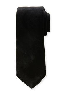 Neiman Marcus Men's Velvet Silk Tie