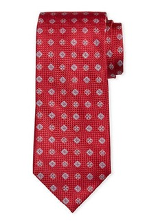 Neiman Marcus Men's Willtown Neat Silk Tie