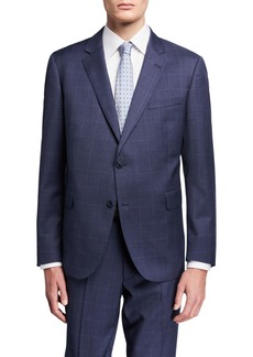 Neiman Marcus Men's Wool Modern-Fit Two-Piece Suit