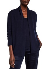 Neiman Marcus Modern Cashmere Open Cardigan