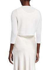 Neiman Marcus Modern Cashmere Shrug