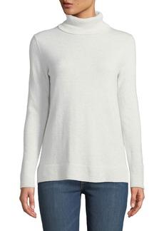Neiman Marcus Modern Cashmere Turtleneck Sweater