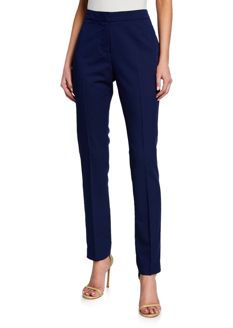 Neiman Marcus Modern Mid-Rise Trousers