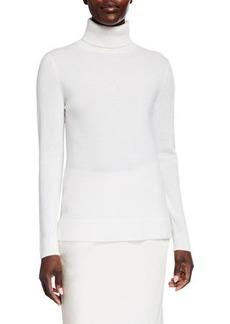 Neiman Marcus Modern Turtleneck Cashmere Sweater
