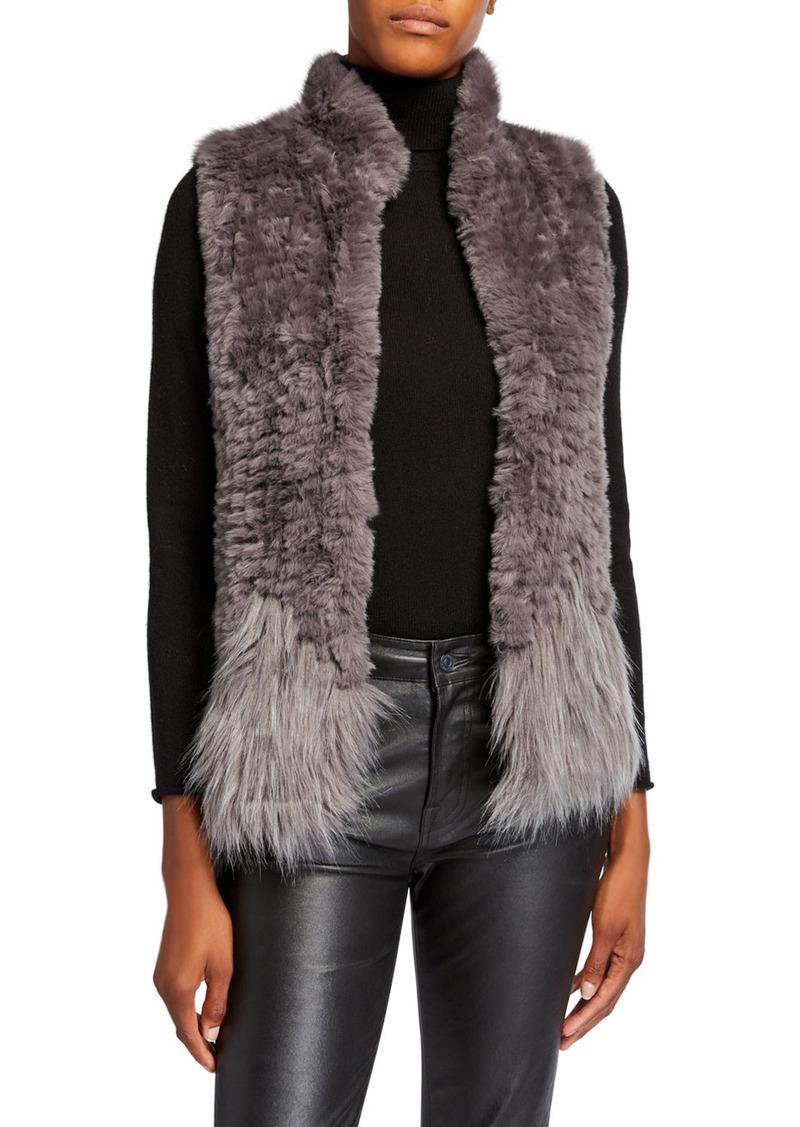 Multi Faux-Fur Vest