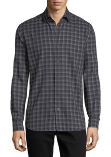 Neiman Marcus Multi-Striped Sport Shirt