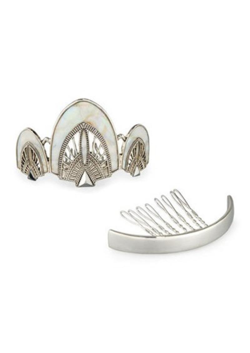 Neiman Marcus Art Deco Bun Pin Set