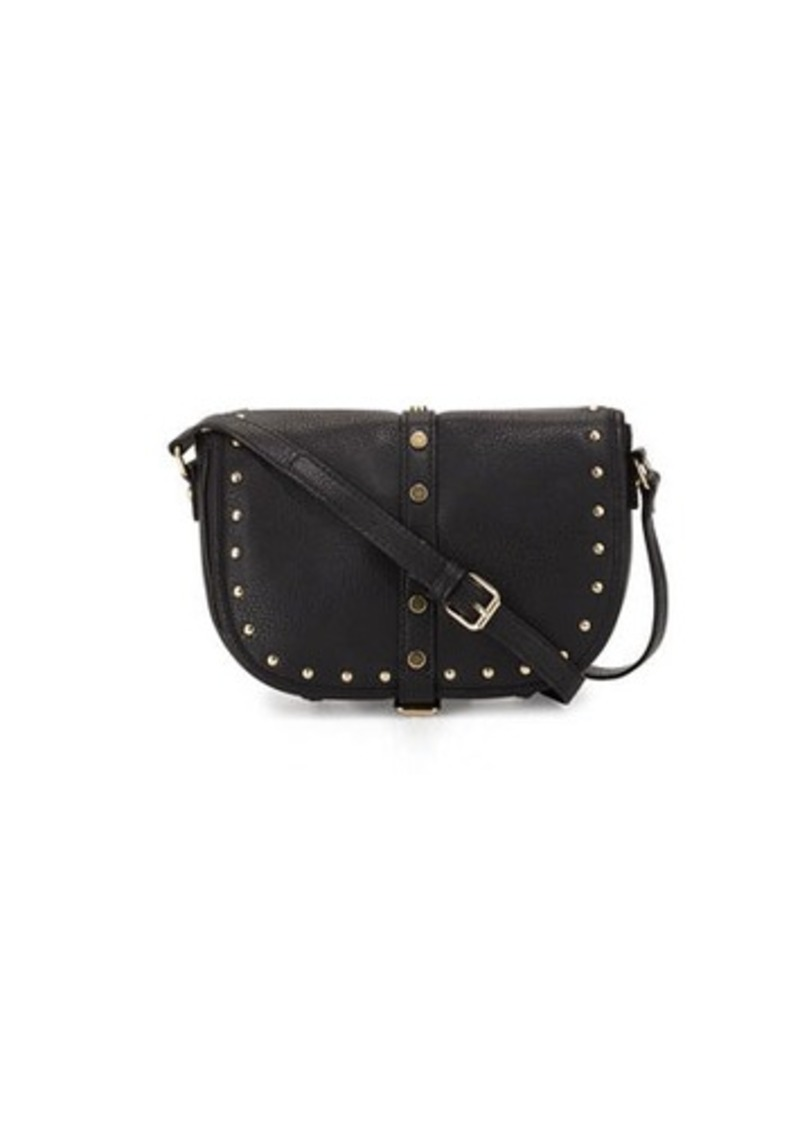 Neiman Marcus Austin Studded Saddle Bag