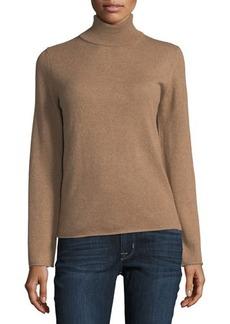 Neiman Marcus Cashmere Basic Turtleneck Sweater