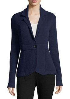 Neiman Marcus Cashmere Blazer Jacket