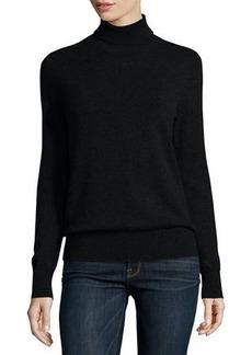 Neiman Marcus Cashmere Collection Classic Long-Sleeve Cashmere Turtleneck