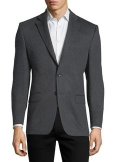 Neiman Marcus Cashmere Two-Button Blazer