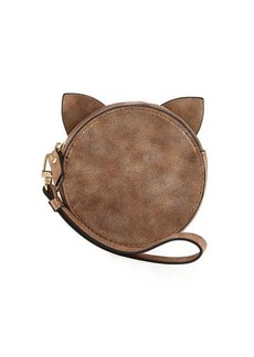 Neiman Marcus Cat Ears Round Coin Purse
