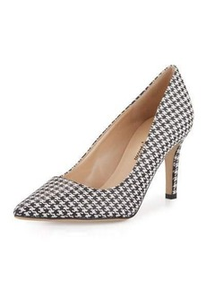 Neiman Marcus Cissy Printed Pointed-Toe Pump