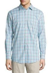 Neiman Marcus Classic-Fit Non-Iron Check Sport Shirt
