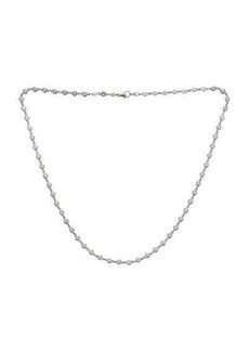 Neiman Marcus Diamonds 14k White Gold By-The-Yard Diamond Necklace