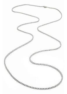 """Neiman Marcus Diamonds 40""""L Diamond Tennis Necklace"""