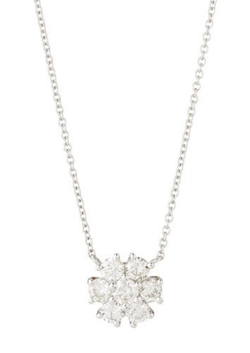Neiman marcus neiman marcus diamonds fiamma 18k white gold diamond neiman marcus diamonds fiamma 18k white gold diamond flower pendant necklace aloadofball Gallery