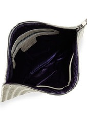 Neiman Marcus Distressed Woven Large Pouch