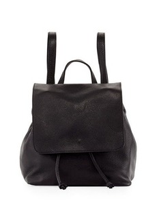 Neiman Marcus Dollaro Flap Leather Backpack