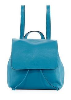 Neiman Marcus Dollaro Flap Leather Backpack
