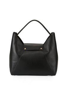 Neiman Marcus Dollaro Leather Hobo Tote Bag