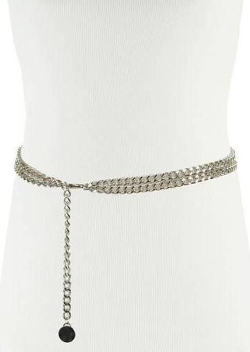 Neiman Marcus Double Swag Chain Belt