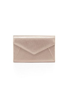 Neiman Marcus Embossed Envelope Wallet Clutch Bag