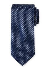 Neiman Marcus English Woven Silk Tie