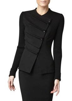 Lafayette 148 New York Folded Asymmetric Jacket