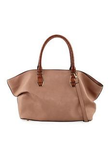Neiman Marcus Gemma Exotic Satchel Bag