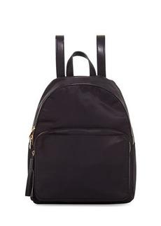 Neiman Marcus Harper Nylon Tassel Backpack