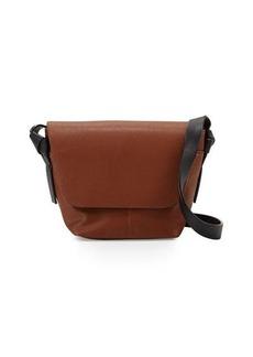 Neiman Marcus Knots Faux-Leather Crossbody Bag