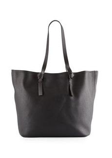 Neiman Marcus Knots Faux-Leather Tote Bag