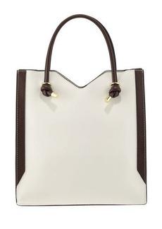 Neiman Marcus Knox Colorblock Tote Bag