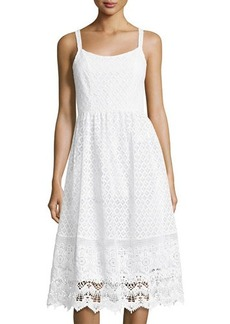 Neiman Marcus Lace Cami Dress