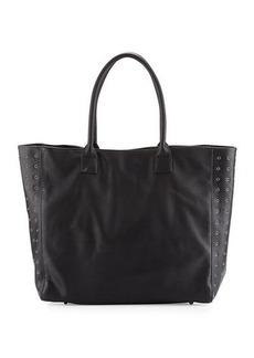 Neiman Marcus Large Grommet Tote Bag