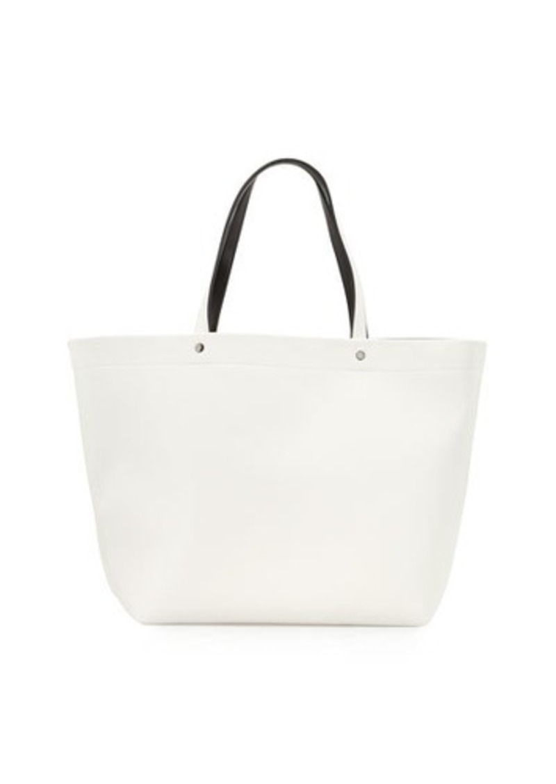 Neiman Marcus Large Tote Bag w/Contrast